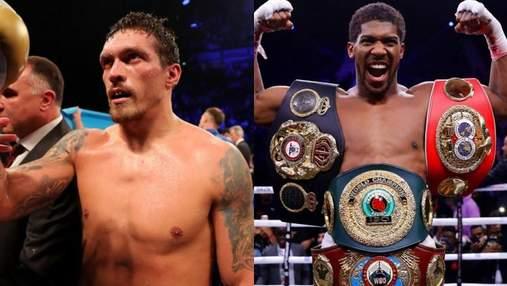 Усик проведет бой за титул WBO через две недели после поединка Фьюри – Джошуа