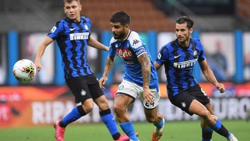Интер – Наполи: где смотреть матч Серии А
