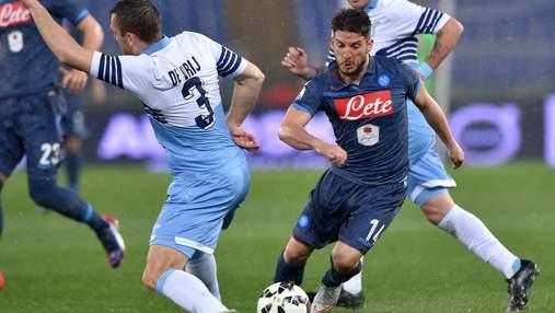 Лацио уверенно разобрался с Наполи в Серии А: видео