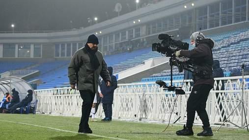 Луческу получил наказание за выбегание на поле во время матча с Колосом
