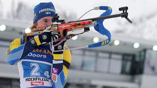 Шведський біатлоніст хоче, щоб російський прапор заборонили на Кубку світу