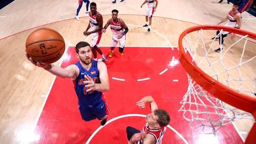 Момент с участием украинца Михайлюка попал в подборку лучших за день в НБА: видео