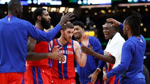 Детройт Михайлюка не зумів уникнути поразки у заключному матчі перед стартом в НБА