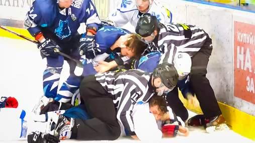 Київські хокеїсти влаштували масову бійку під час матчу: відео