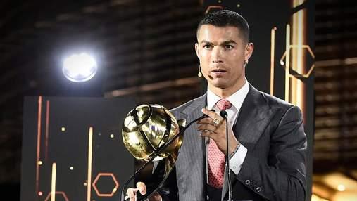 Криштиану Роналду стал лучшим футболистом XXI века