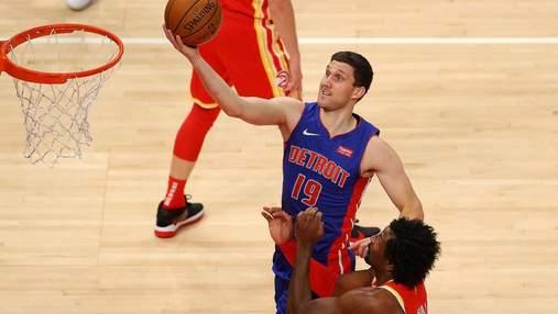 Детройт Михайлюка зазнав третього фіаско поспіль на старті НБА: відео