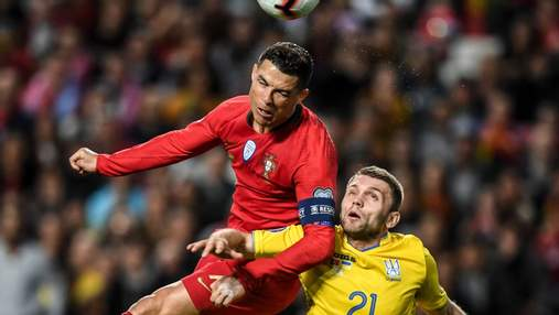 """Игрок сборной Украины признался, как его """"послал"""" Роналду"""