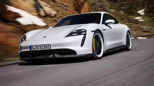 Самый длинный в истории дрифт: электрический Porsche Taycan установил рекорд – фото, видео