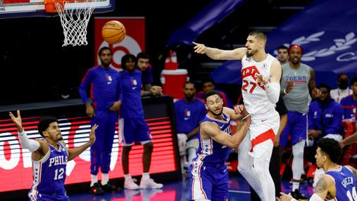 Мизерное количество очков Леня не помогло Торонто победить в НБА