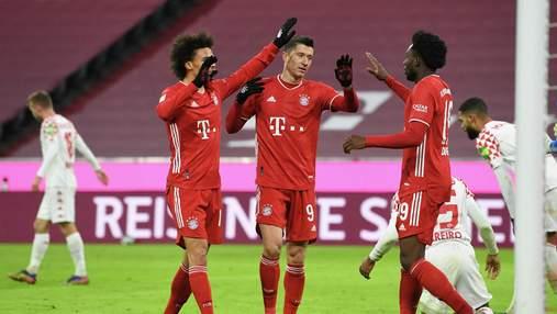 Бавария отыгралась с 0:2, разгромив Майнц во втором тайме: видео