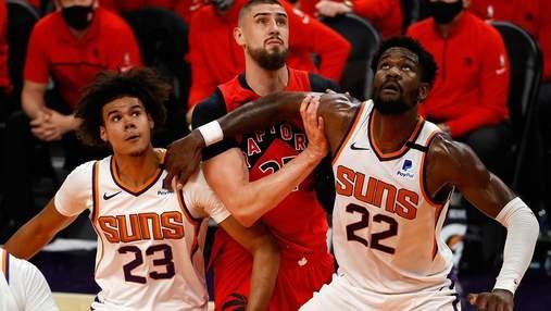 Клубы украинских баскетболистов одержали уверенные победы в НБА