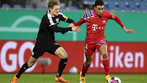 Бавария впервые за 17 лет сенсационно вылетела из Кубка Германии от второлиговой команды: видео