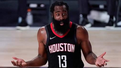 Баскетболіст Джеймс Харден переходить з Х'юстона в Бруклін