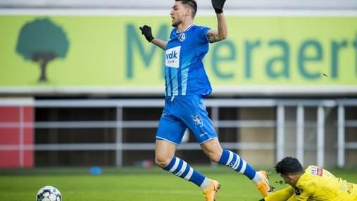 Яремчук заработал пенальти, но Гент проиграл после гола бывшего игрока Карпат: видео