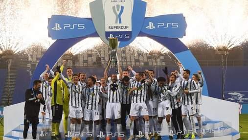 Ювентус уверенно переиграл Наполи в финале Суперкубка Италии: видео