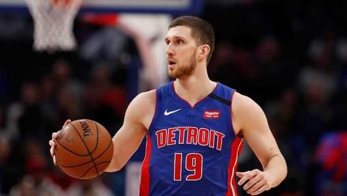 Детройт проиграл в НБА, Михайлюк провел невыразительный матч