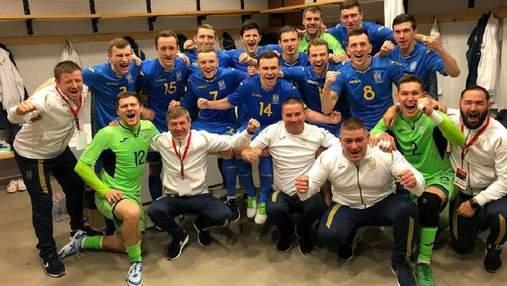 Збірна України у гольовій феєрії знищила Албанію у відборі на Євро-2022 з футзалу: відео