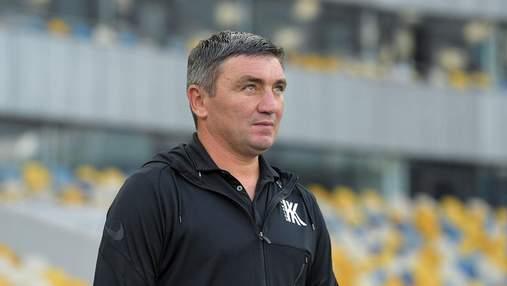 Це моя позиція: тренер Колоса прокоментував скандальний відхід Селезньова з клубу