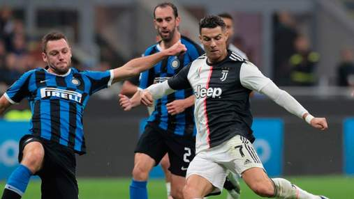 Дубль Роналду в матче с Интером приблизил Ювентус к финалу Кубка Италии: видео