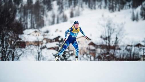 Фінська лижниця зламала ногу під час гонки, але про травму дізналася лише після фінішу