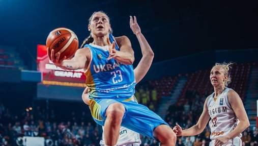 Україна знищила Португалію у відборі на жіночий Євробаскет-2021