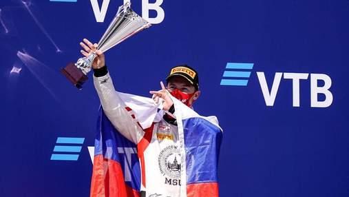 Пілоту Формули-1 Мазепіну заборонили використовувати гімн та прапор Росії