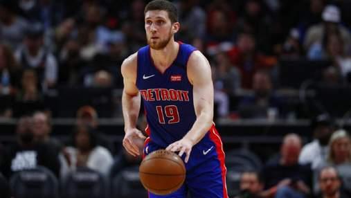 Детройт с Михайлюком продолжил серию из поражений в НБА: видео