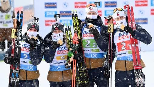 Чемпіонат світу з біатлону-2021: медальний залік
