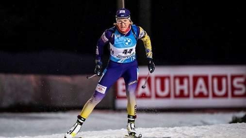 Відразу дві українські біатлоністки кваліфікувалися в останню гонку чемпіонату світу