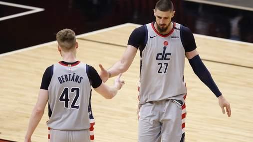 Лень помог Вашингтону вырвать важную победу в НБА