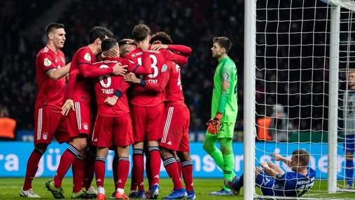 Бавария разгромила Лацио в 1/8 финала Лиги чемпионов: видео