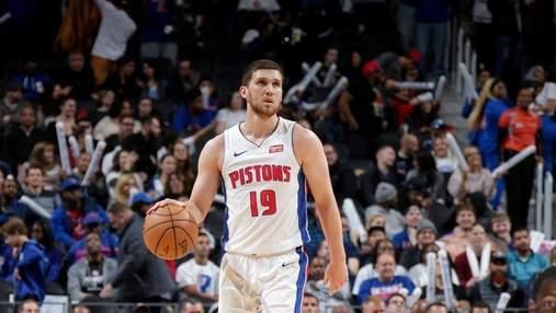 Детройт з Михайлюком знову втратив перемогу в НБА