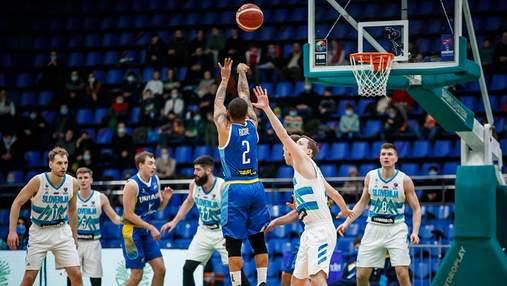 Украина взяла реванш у Словении в квалификации Евробаскет-2022