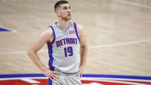 Михайлюк показал мизерную результативность в проигрышном матче Детройта