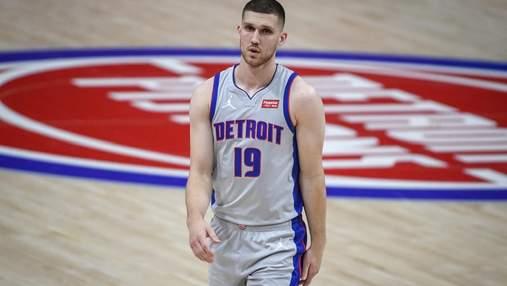 Михайлюк вперше вийшов у старті, Детройт взяв реванш в Орландо у НБА
