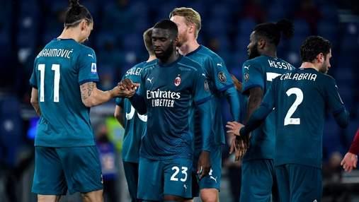"Милан победил Рому и не отпустил Интер в гонке за ""золото"" Серии А: видео"