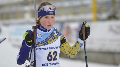 Біатлоністка з України допустила фатальну помилку на стрільбі ЧС та була дискваліфікована