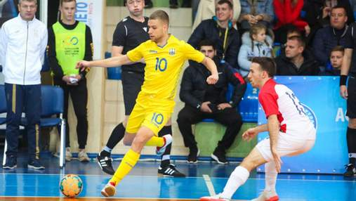 Україна поступилась Хорватії у драматичному матчі у відборі на Євро-2022 з футзалу: відео