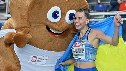 """Золотий стрибок """"Королеви"""": як легкоатлетка Бех-Романчук стала чемпіонкою Європи – відео"""