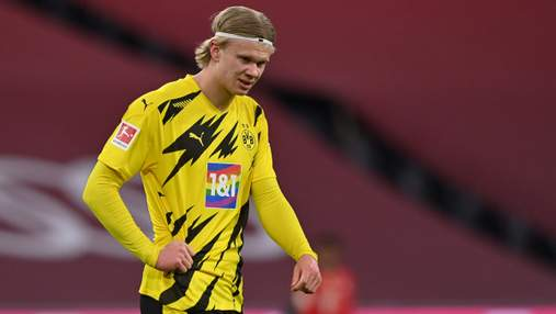 Нога в крови: Холанд оформил дубль и получил травму в матче с Баварией