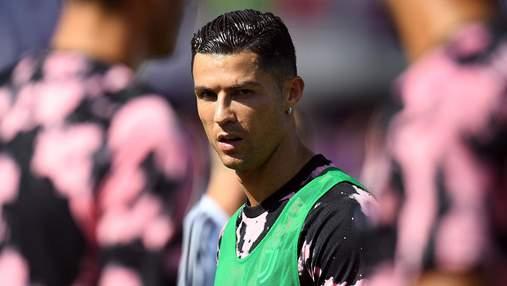 Впервые за 15 лет: Роналду не забил в плей-офф Лиги чемпионов