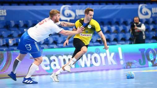 Украина в напряженном матче победила Фарерские острова в отборе на гандбольное Евро