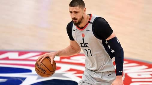 Вашингтон зазнав нищівної поразки в НБА, Лень набрав 9 очок: відео