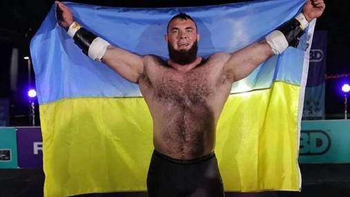 Украинский стронгмен Новиков во второй раз стал самым сильным человеком планеты