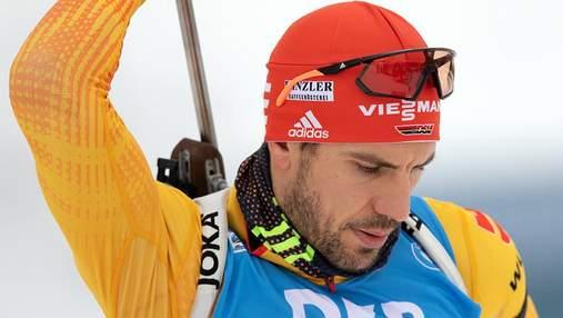 Зірковий біатлоніст Пайффер оголосив про завершення кар'єри
