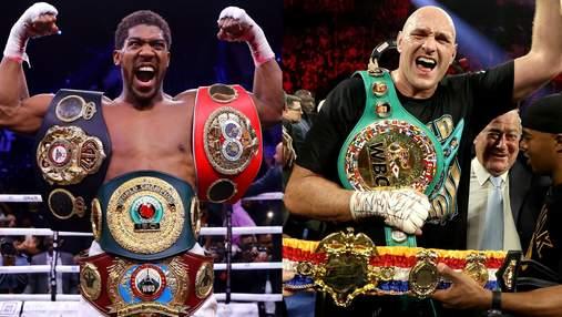 Джошуа – Фьюри: огромные гонорары боксеров