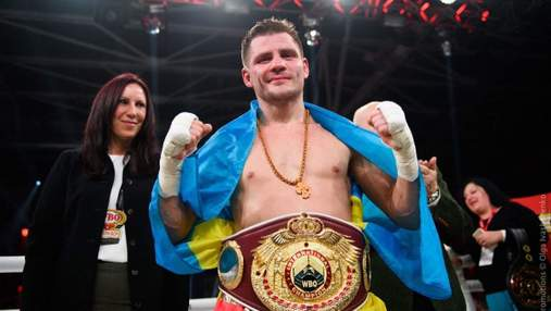 Українець Берінчик за 3 раунди нокаутував Санчеса