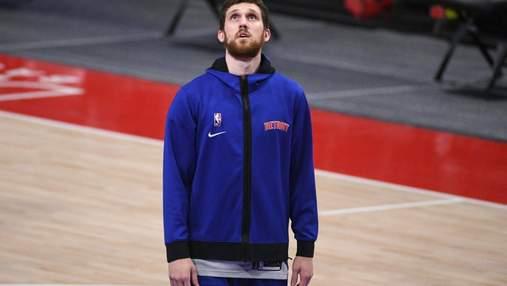 Українець Михайлюк дебютував за Оклахому в НБА: відео