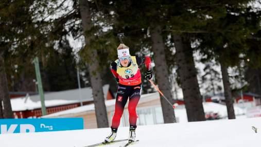 Українки провалили спринт на останньому етапі Кубка світу з біатлону, перемога Екхофф