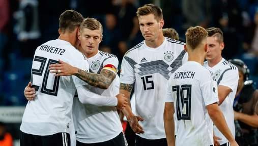 Германия с разгрома стартовала в отборе на ЧМ-2022: видео